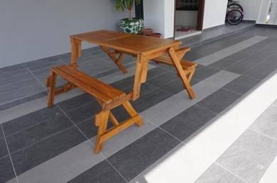 Teak wood garden benches by casateak puchong