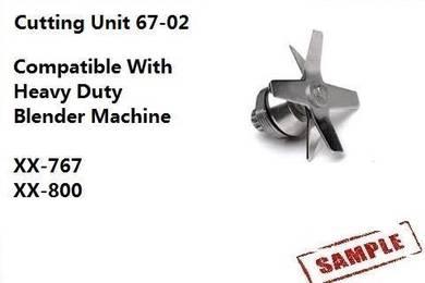Blender Machine Spare Part - Cutting unit