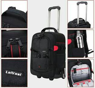 Leivosi camera trolley bag for Nikon Canon Sony
