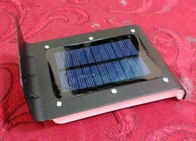 16 led motion sensor solar light with dim mode