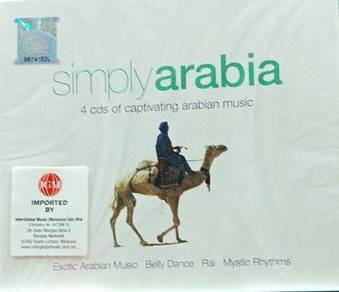 Simply Arabia 4CD (Imported)