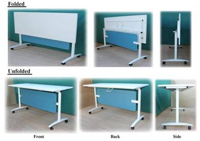 Foldable Training Meeting Workstation Table