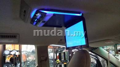 10 inch roof monitor super led super slim uh car