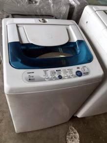 Washer Machine Automatic Toshiba Mesin Basuh Top