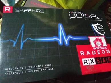 Sapphire Radeon RX560 Pulse 4GB DDR5