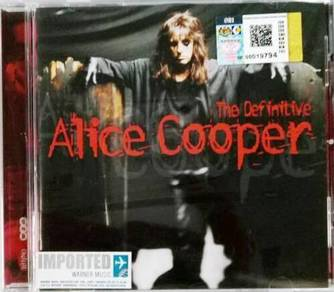 IMPORTED CD Alice Cooper The Definitive