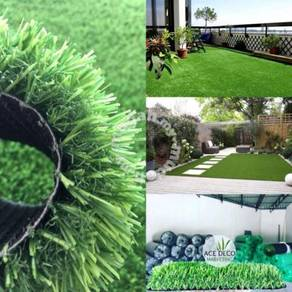 Premium Artificial Grass Rumput Tiruan C-Shape 15