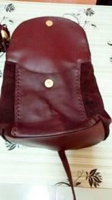 Backpack 1 tali blkg kulit