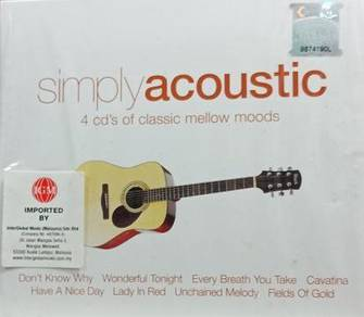 Simply Acoustic 4CD (Imported)