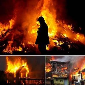 Asap Api kebakaran Fire Gas Sensor Detector Alarm