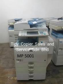 Mp5001 photocopy mesin b/w untuk dijual