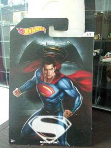 HotWheels Superman Muscle Tone card
