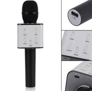 New Q7 Bluetooth Karaoke Microphone Portable