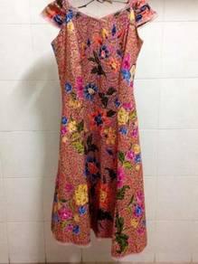 Cotton Batek Dress