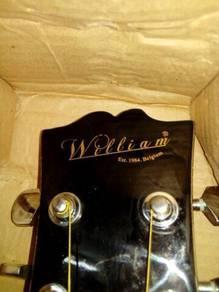 Guitar new brands wiliams 1984 original.