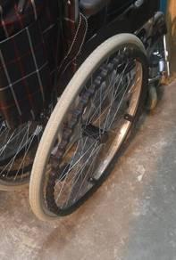 Wheelchair kerusi roda shop selling tyre tayar