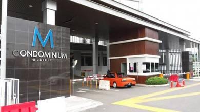 Bilik Single di M Condominium Kondo Mutiara Larkin Deposit1month Only