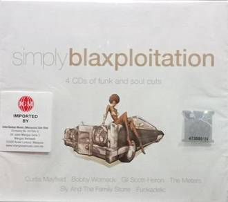 Simply Blaxploitation Funk And Soul Cuts 4CD (Impo