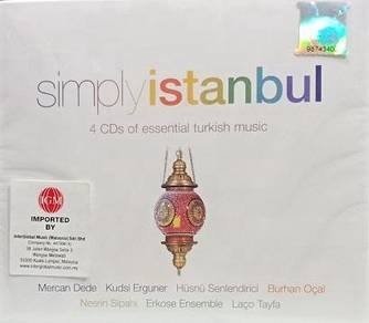 Simply Istanbul 4CD (Imported)