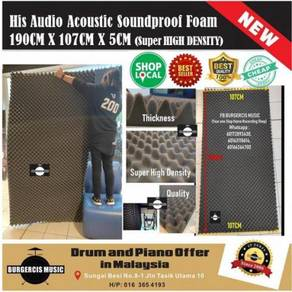 Acoustic Soundproof Foam (190cm x 107cm x 5cm)