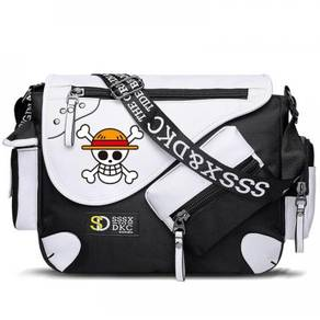 One piece luffy laws sling bag