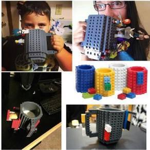 Lego brick coffee Mug / Cawan lego 06