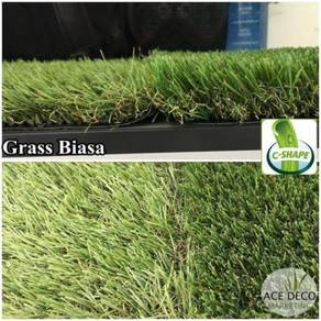 Premium Artificial Grass Rumput Tiruan C-Shape 16