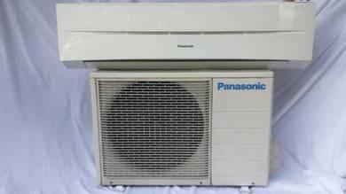 2.0 Panasonic 2.0hp aircond 2.0 hp wall air con