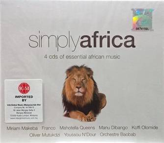 Simply Africa 4CD (Imported)