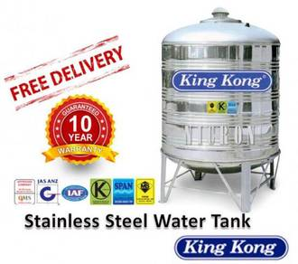 King Kong - Stainless Steel Water Tank 850 Litres