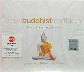 Simply Buddhist Meditation 4CD (Imported)