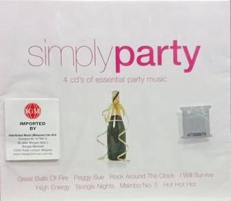 Simply Party 4CD (Imported)