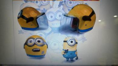 Minion collectable helmet