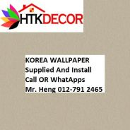 3D Korea Wall Paper with Installation 423QV