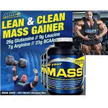 MHP Up Your MASS protein Lean Weight Gainer Amino