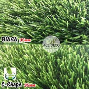 Artificial Grass / Rumput Tiruan Serat C-Shape 23