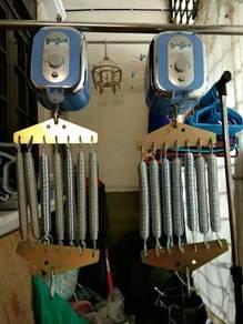 Buaian / motor buaian eletrik