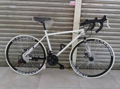 ROAD BIKE 700C 21 Speed Bicycle racing basikal