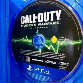 PS4 Call of Duty Modern Warfare aka COD MW R3