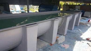 Fish & Shrimp Hatchery Tanks ( Fiber )