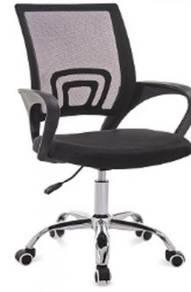 Black Hitam Chair Kerusi office study pejabat 1