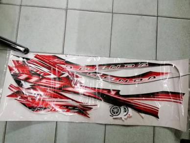 Yamaha Lagenda 115 FI Sticker Body