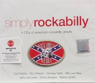 Simply Rockabilly 4CD (Imported)