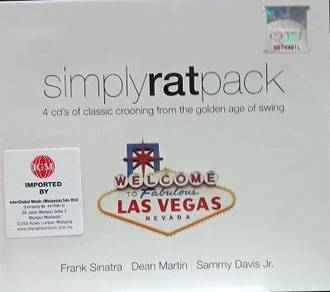 Simply Rat Pack 4CD (Imported)