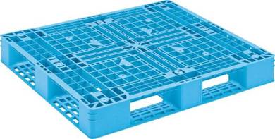 Plastic pallet 1200 x 1000 container use