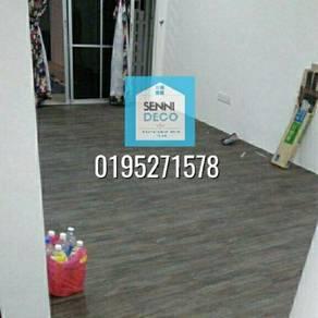 Lantai kayu mewah vinyl PVC