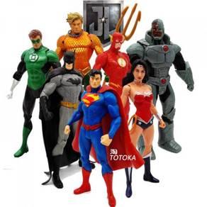 TV Superhero 6pcs 15cm PVC Figures