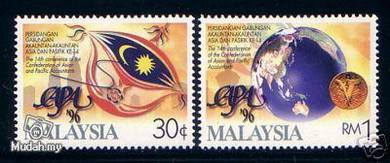 Mint Stamp clean Conference CAPA Malaysia 1996