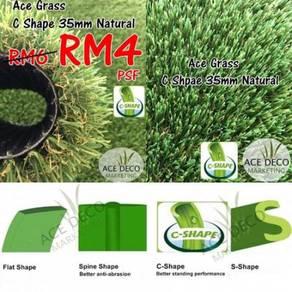 Artificial Grass / Rumput Tiruan C35mm Natural 12