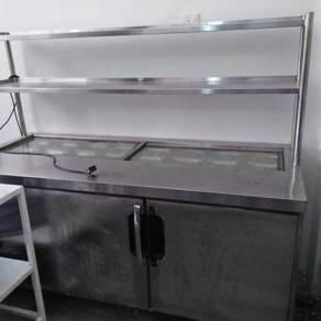 2 door counter chiller / sandwich/ rack